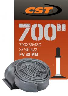 ВЕЛОКАМЕРА CST 700X35/43С FV 48MM