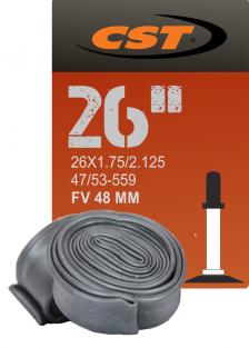 КАМЕРА CST 26X1.75/2.125 FV 48MM (FV НИППЕЛЬ)