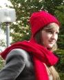 КОМПЛЕКТ KUBIK (шапка + шарф)